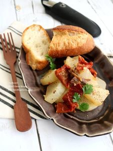 大根とドライトマトの炒め煮