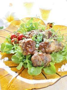 豆腐の豚肉包み