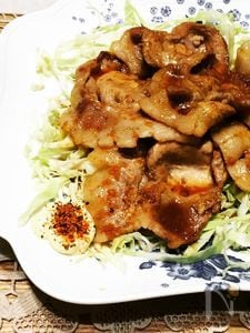 ご飯がすすむ、豚の生姜焼き