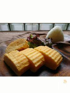 お弁当にふんわりしっとり〜だし巻き玉子焼き〜鉄version