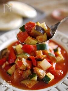夏野菜|作り置き|アレンジ|付け合わせ|ラタトゥイユの作り方