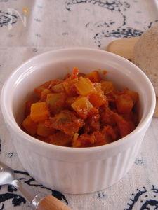 しゃきしゃき!根菜のラタトゥイユ。