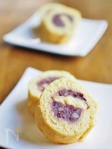 少量で作りやすい★小豆ロール