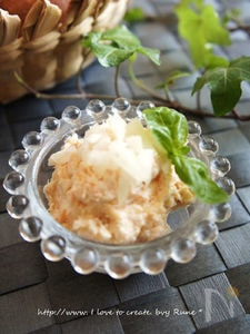 残り物リメイク塩鮭de豆腐クリームパテ