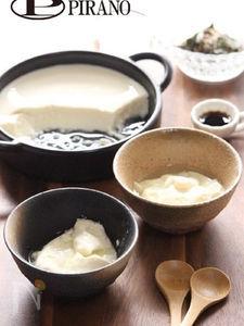 レンジですくい豆腐♪