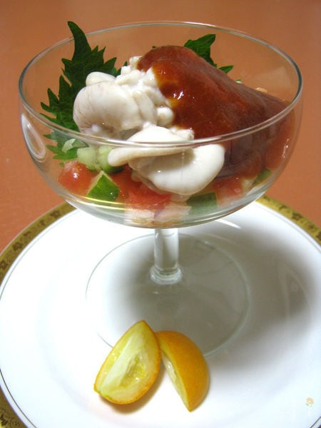 和の香り ◆真鱈の白子 柚子のカクテルソース◆