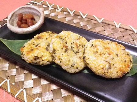 ◆玄米チーズお焼き◆