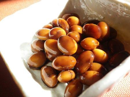 ◆香醋(こうず:中国黒酢)で作る 酢大豆◆&酢大豆おろしあえ
