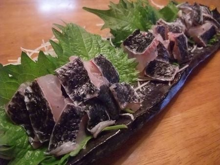 霜降り作り メジナ(グレ)料理③