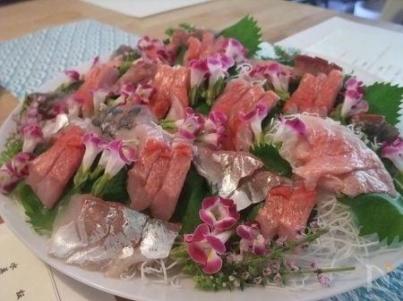 霜降り作り キンメダイ料理①