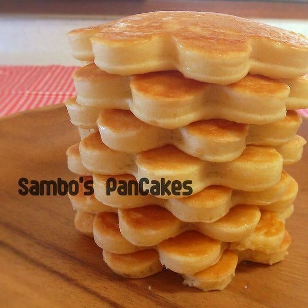 メイプルバター•パンケーキ