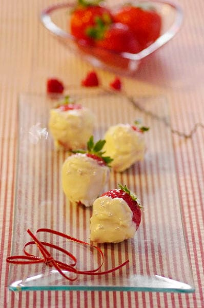 【バレンタイン】ホワイト苺チョコ☆