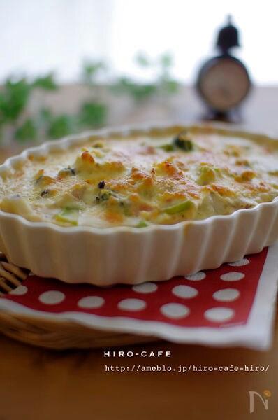 里芋の野菜たっぷり豆乳グラタン☆