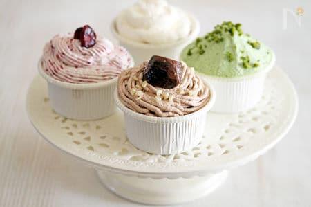 シンプルカップケーキ