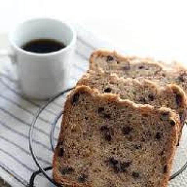 天然酵母で いちじくとチョコレートの米粉パン