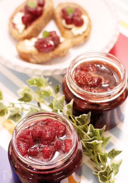 苺コンフィチュール赤ワイン風味