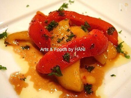 ペペロナータ パプリカのおしゃれなイタリアン前菜