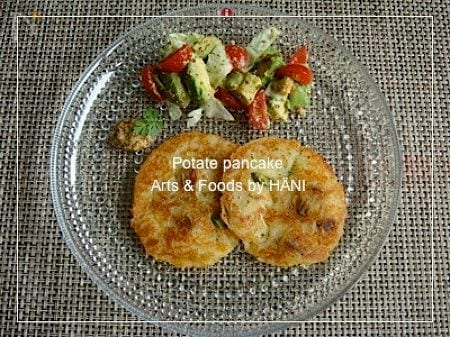 マッシュポテトが大活躍!ポテトパンケーキのレシピ