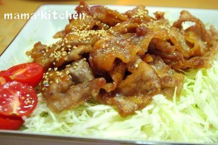 カリカリ美味しい♪薄切り豚肉の生姜揚げ