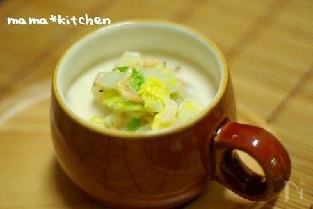 使い切りレシピ<白菜一日目>白菜ミルクスープ