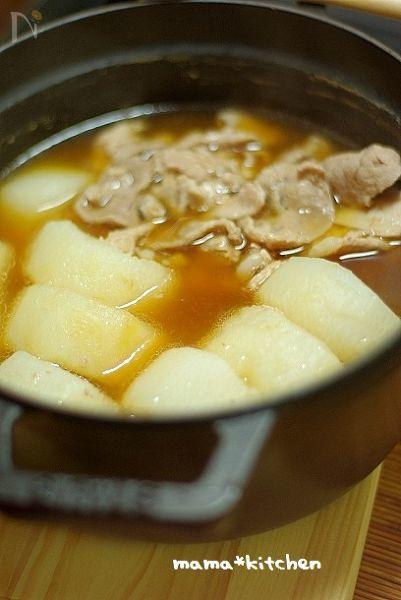 豚肉と大根の中華風旨煮