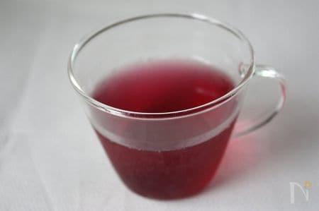 夏をのりきる!赤しそジュース