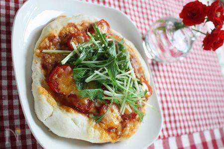 発酵なしで簡単♪手作りピザ