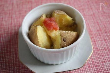3. 明太子とバターのベイクドポテト