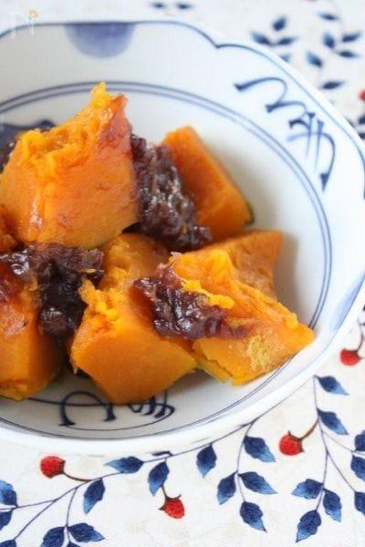 冬至の日に簡単♪かぼちゃのいとこ煮