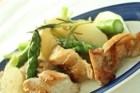 鶏肉と野菜のポットロースト・ローズマリー風味