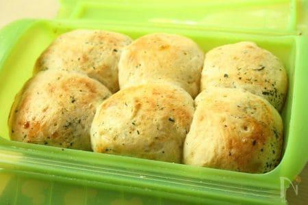 大葉香る♪ふんわり味噌ちぎりパン
