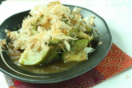 トロなすのサッと和風カレーソース煮