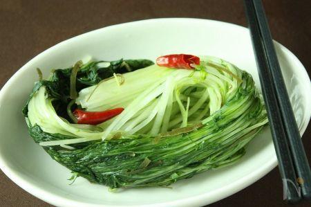 シャキシャキ美味☆水菜の浅漬け