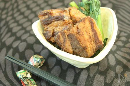 加熱時間30分で柔らかジューシー☆圧力鍋で豚の角煮