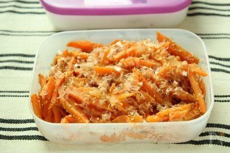 【節電レシピ】簡単常備菜☆にんじんの味噌きんぴら