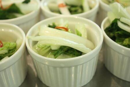 簡単☆さっぱり☆白菜のラ-パーツアイ