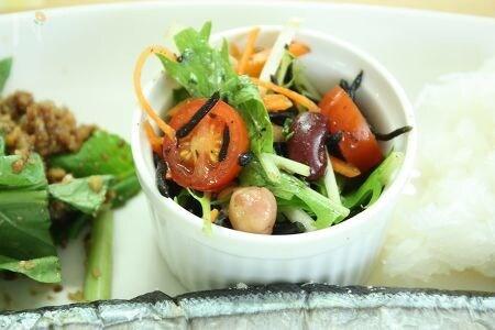 ひじきと豆のデリ風サラダ