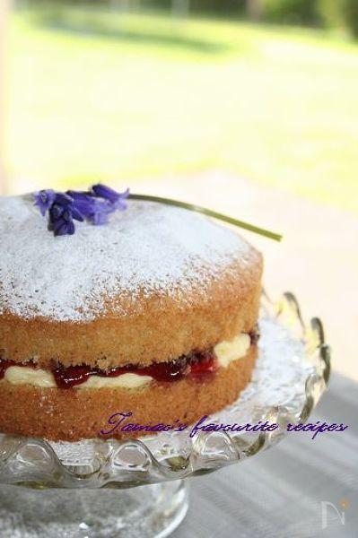 英国ビクトリア・サンド・ケーキ