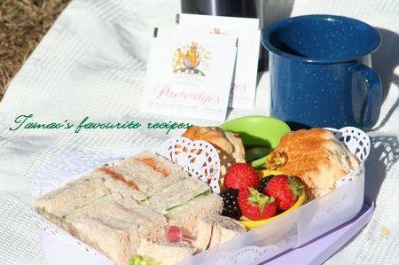 アフタヌーンティお弁当♪