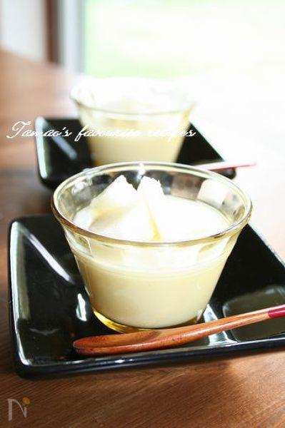 杏仁豆腐ゼリー