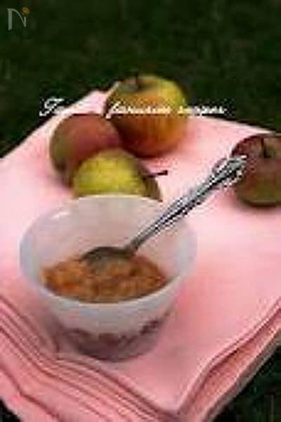 体をあたためる、しょうがとリンゴのジャム