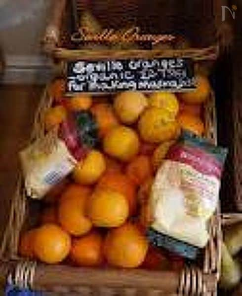サビルオレンジのマーマレードの作り方(下ごしらえ)