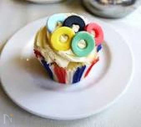 オリンピック・カップケーキ!!
