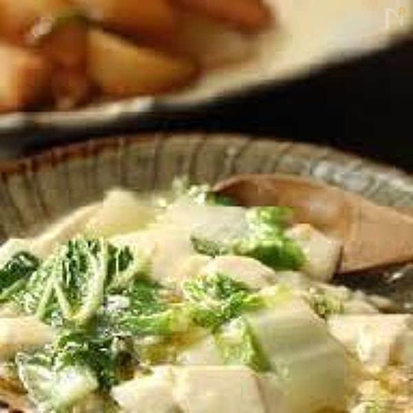 【白菜と豆腐のとろ煮】