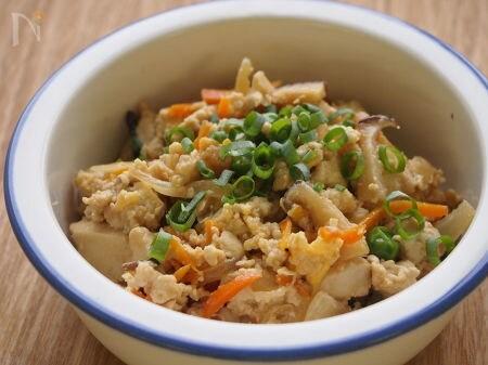 3.ココナッツオイルの炒り豆腐