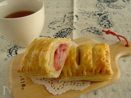 ピンクの♪アップルパイ。