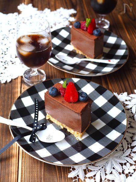 豆腐生チョコケーキ