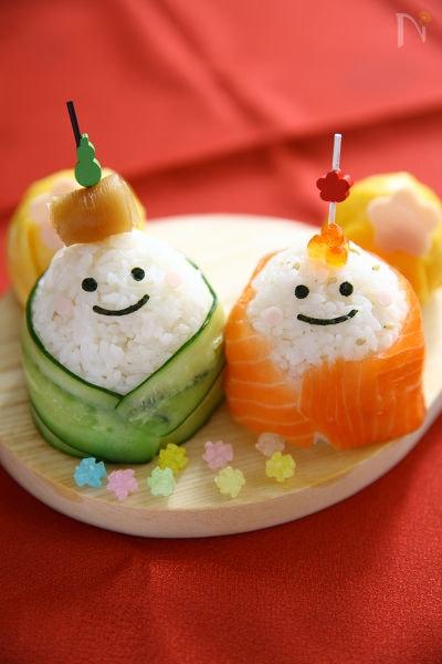 おひなさま手まり寿司