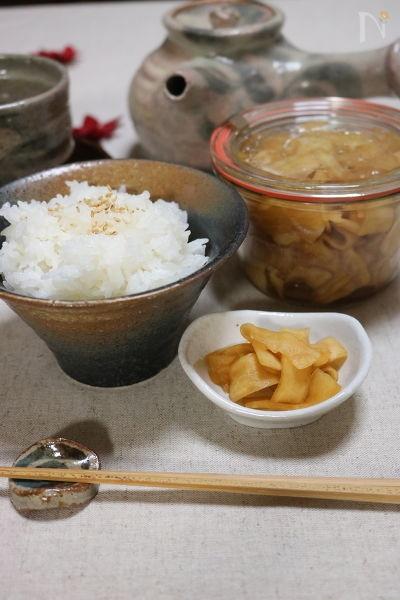 【常備菜】大根のゆず醤油漬け
