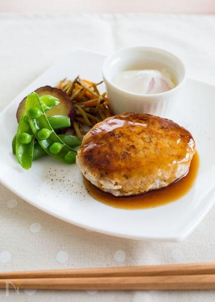 ヘルシー豆腐ハンバーグ